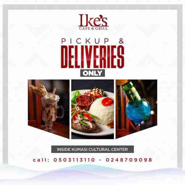 Ikes Cafe Delivery Small