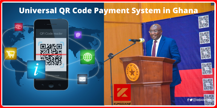 Universal QR Code Payment System in Ghana