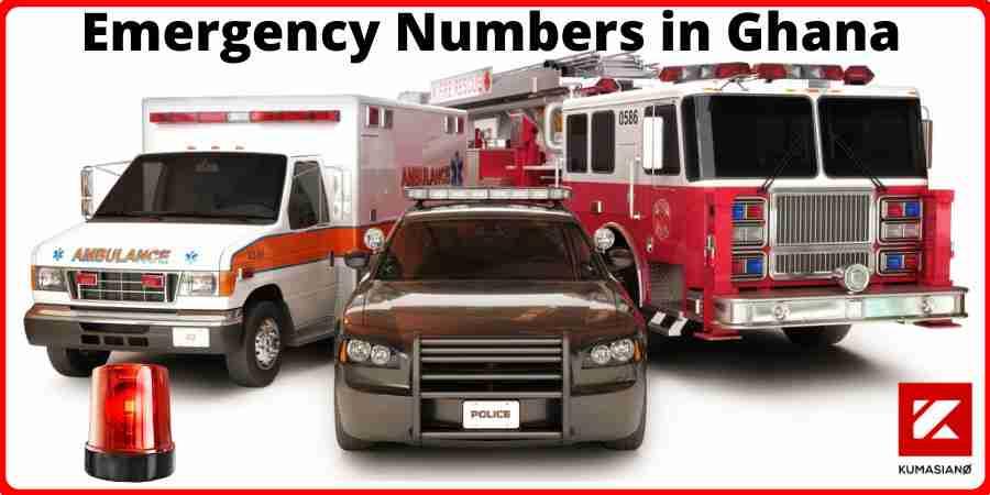 Emergency Numbers In Ghana Large
