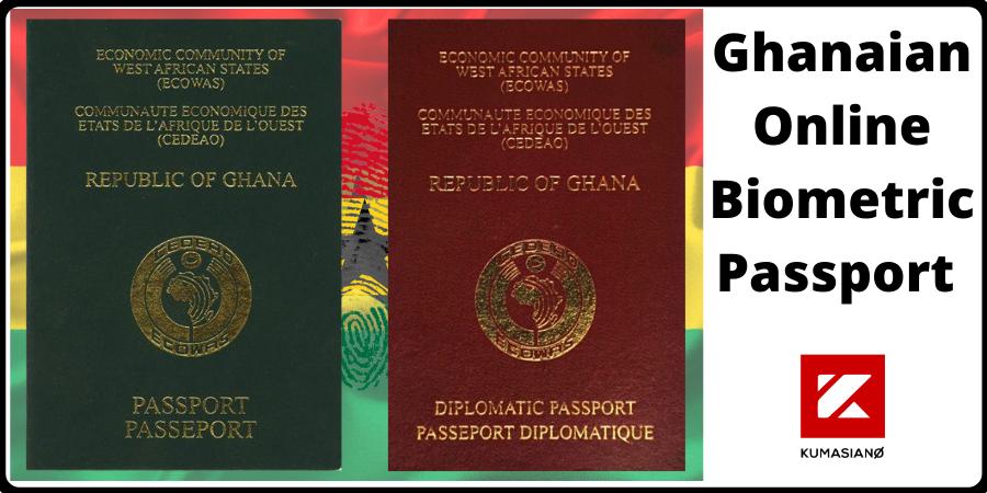 Ghanaian Online Biometric Passport