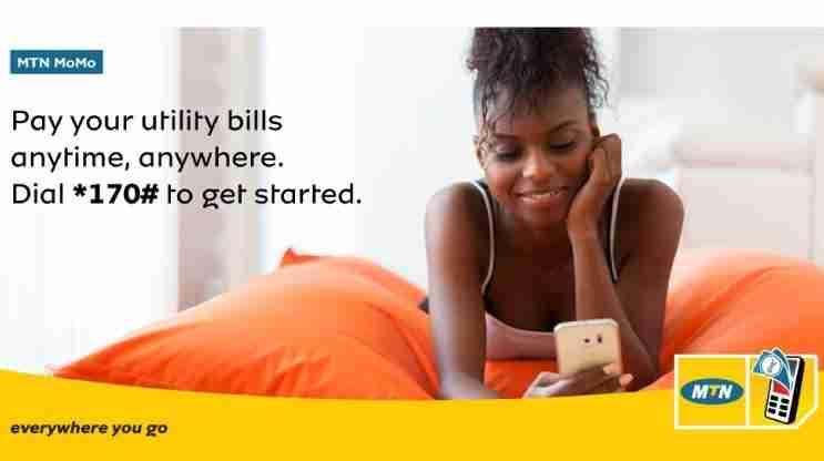 Utility Bills On Mtn Mobile Money