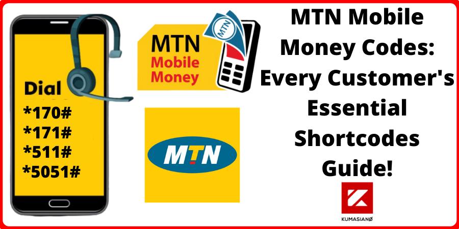 Mtn Mobile Money Codes