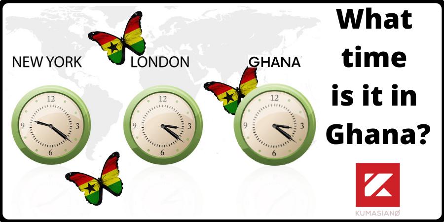 Time In Ghana What Time Is It In Ghana