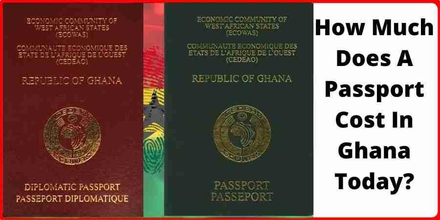 passport cost in ghana today